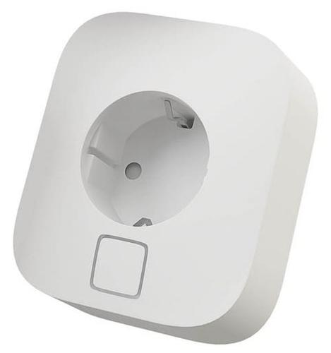 Розетка HIPER IoT P02,16А, с защитной шторкой, с заземлением, белый фото 1