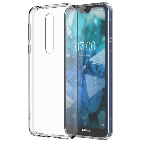 Чехол-накладка Nokia CC-170 для Nokia 7.1 transparent чехол nokia cc 505 для nokia 6 1 iron red
