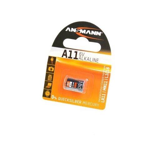 Батарейка ANSMANN A11 1 шт блистер батарейка ansmann cr2025 1 шт блистер