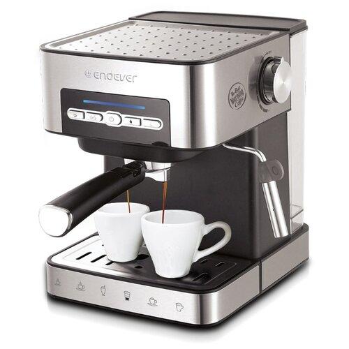 Кофеварка рожковая ENDEVER Costa-1065 серебристый кофеварка endever costa 1005 серебристый черный