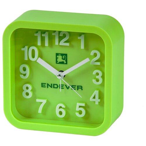 Часы настольные ENDEVER RealTime-14/15 зеленый
