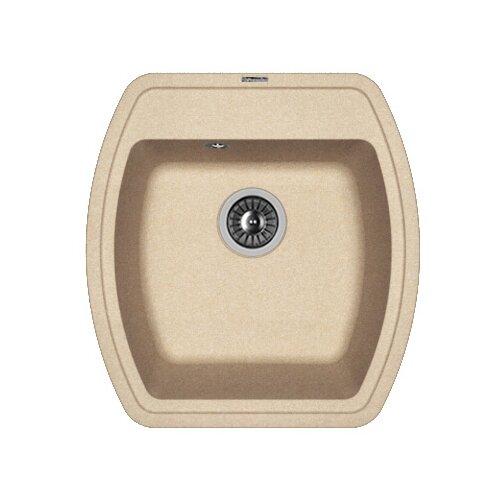 Врезная кухонная мойка 48 см FLORENTINA Нире-480 FG 20.190.B0480.107 песочный florentina мойка кухоннаяflorentina нире 630 жасмин