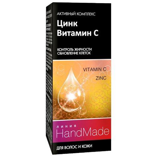 Pharma Group HandMade Средство Косметическое для волос и кожи головы Цинк + Витамин С, 5 мл