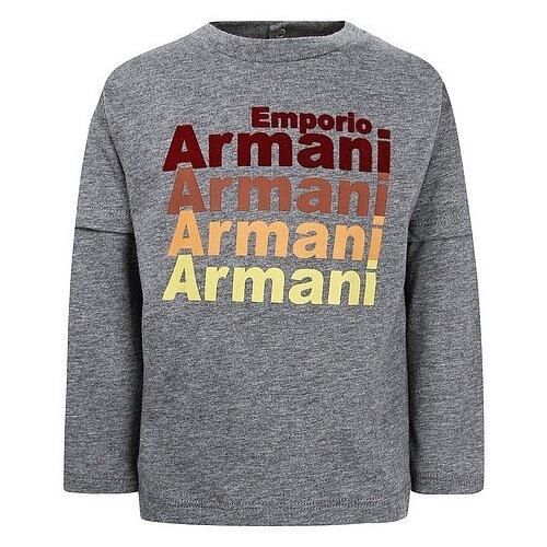 Купить Лонгслив EMPORIO ARMANI размер 68, серый, Футболки и рубашки