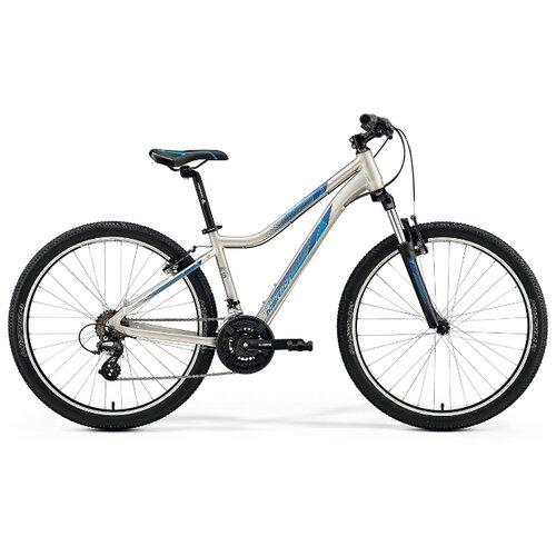 Горный (MTB) велосипед Merida Juliet 6.10-V (2019) silk titan/dark blue M (требует финальной сборки) merida juliet 6 20 d 2016