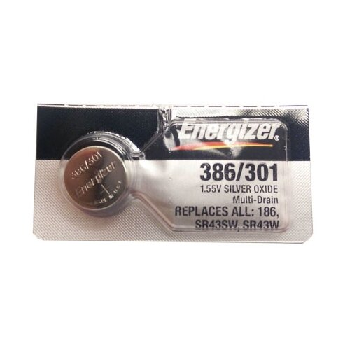 Фото - Батарейка Energizer Silver Oxide 386/301 (1 штука) батарейка energizer max plus aa 4 шт