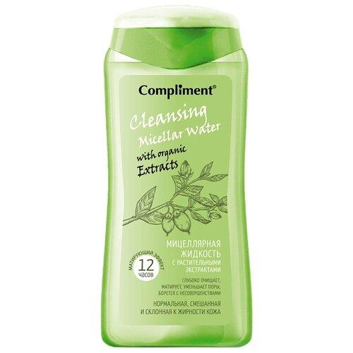Купить Compliment мицеллярная жидкость с растительными экстрактами Матирующий эффект, 200 мл