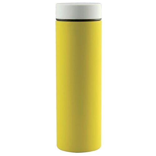 Классический термос asobu Le baton travel (0,5 л) желтый/белый