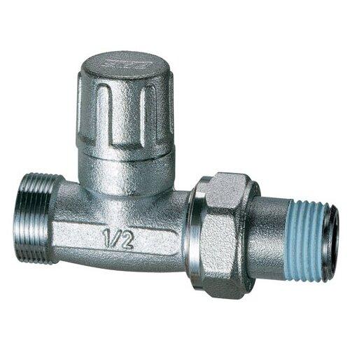 Фото - Запорный клапан FAR FV 1300 муфтовый (НР/НР), латунь, для радиаторов Ду 15 (1/2) запорный клапан far ft 1616 муфтовый нр нр латунь для радиаторов ду 15 1 2