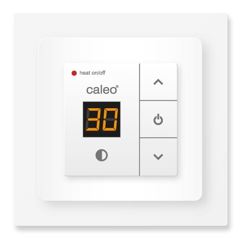 Фото - Терморегулятор Caleo 720 (3,5 кВт) белый терморегулятор caleo 620 белый