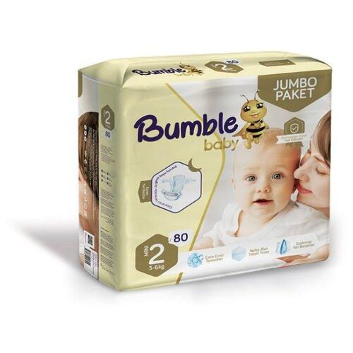 Bumble Baby подгузники 2 (3-6 кг) 80 шт.