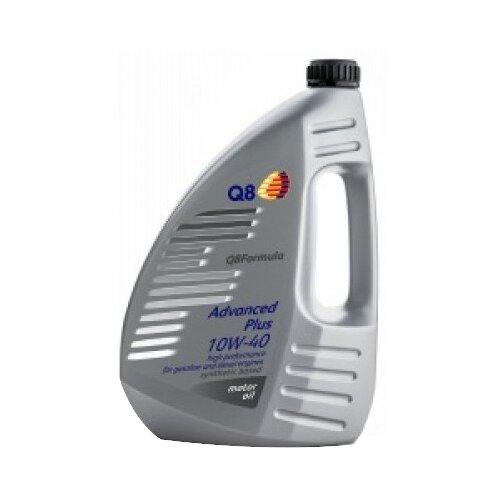 Полусинтетическое моторное масло Q8 Formula Advanced Plus 10W-40, 4 л