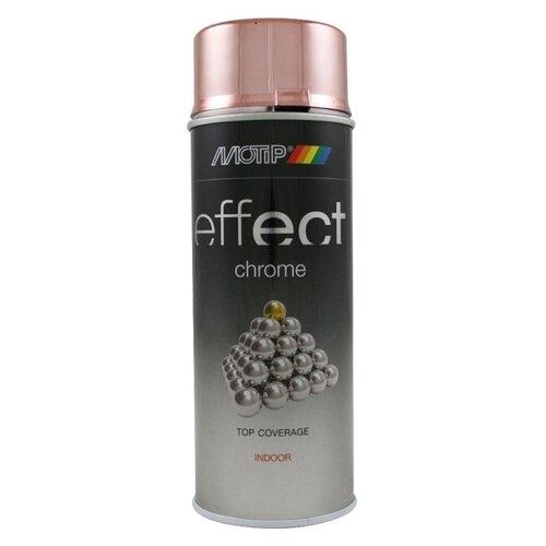 Краска MOTIP Deco effect chrome lacquer copper 400 мл