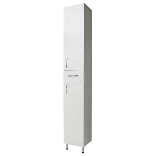 Шкаф-пенал для ванной СанТа Стандарт 30 501002, (ШхГхВ): 30х30. 5х191 см, белый
