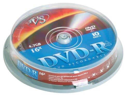 Диск DVD-R VS 4.7 GB 16x