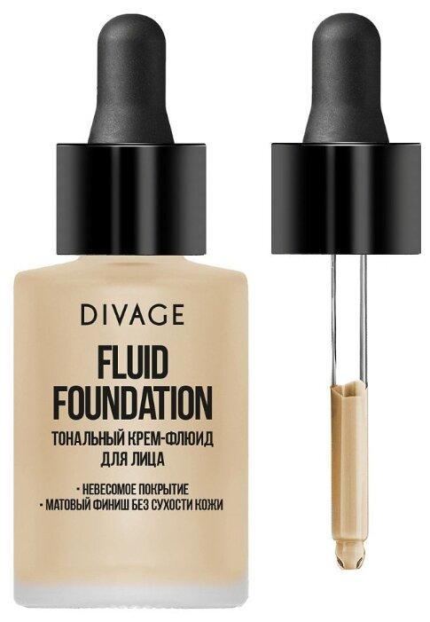DIVAGE Тональный флюид Fluid Foundation 30 мл
