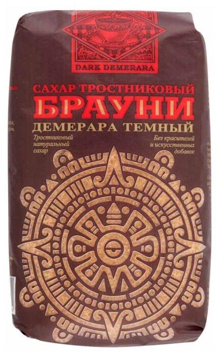 Сахар Брауни тростниковый коричневый Демерара темный, сахар-песок