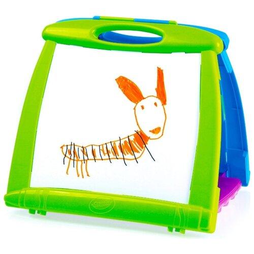 Доска для рисования детская Grow'N Up 4 в 1 (5075) зеленый/голубой