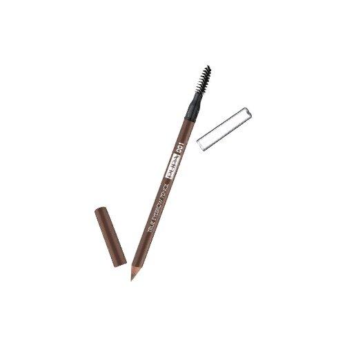 Фото - Pupa карандаш True Eyebrow Pencil, оттенок 001 Blonde pupa карандаш true eyebrow pencil оттенок 003 dark brown