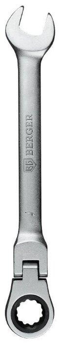 BERGER ключ комбинированный трещёточный с шарниром
