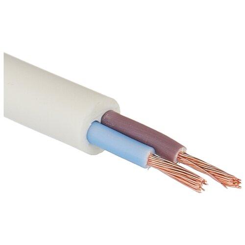 Провод ПВС 2х1.5 кв. мм (100 м) Пан Электрик ГОСТ белый