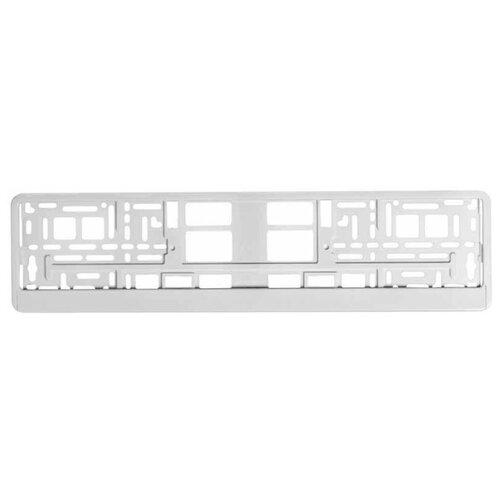 Рамка для номера Airline Белая (AFC-04) белый