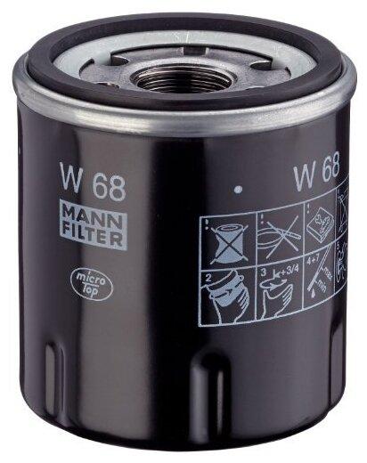 Масляный фильтр MANNFILTER W68