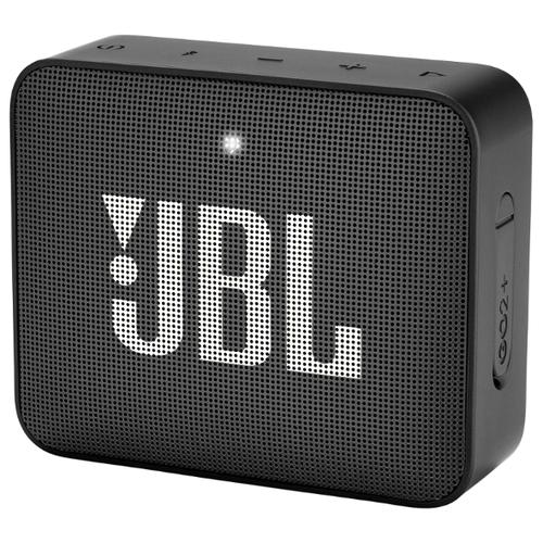 Портативная акустика JBL GO 2 Plus black