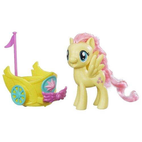 Фото - Фигурка My Little Pony My Little Pony Флатершай в карете B9159 резинка для волос my little pony daisy design my little pony розетка