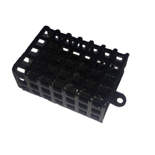 Кормушка для прикормки AGP Металлическая прямоугольная 50 г мотовило agp для поводков с пружиной цвет синий