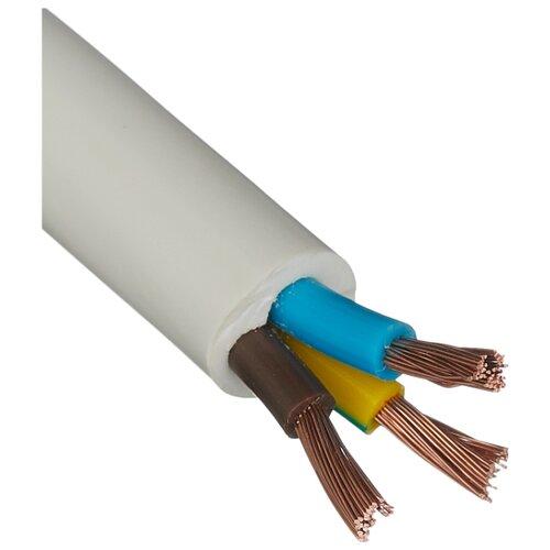 Провод ПВС 3х4 кв. мм (10 м) Пан Электрик белый