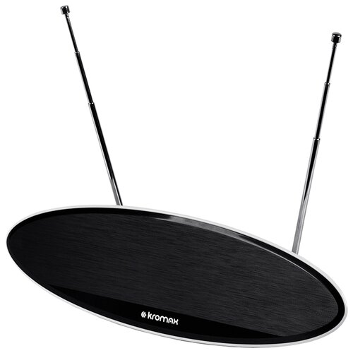 Фото - Комнатная DVB-T2 антенна Kromax TV FLAT-04 комнатная антенна kromax flat 07 black