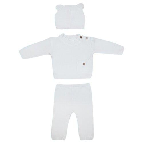 Купить Комплект одежды Лапушка размер 56, белый, Комплекты