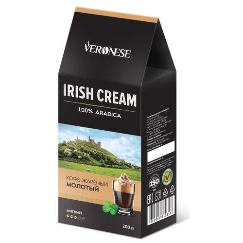 Кофе молотый Veronese Irish Cream ароматизированный, 200 г статуэтки veronese статуэтка пара сов