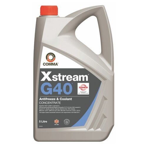Антифриз Comma Xstream G40 Concentrate 5 л