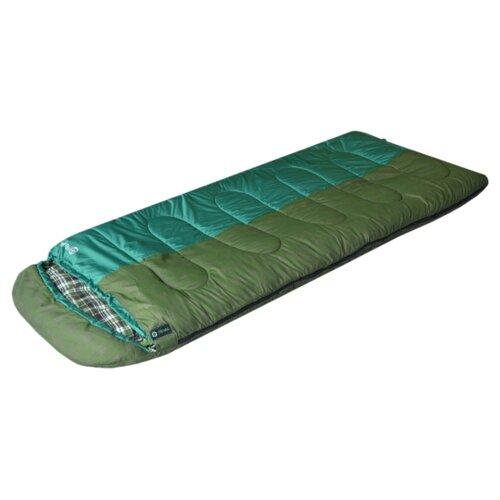 цена на Спальный мешок PRIVAL Привал зеленый с правой стороны