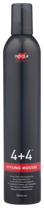 Indola мусс 4+4 средней фиксации
