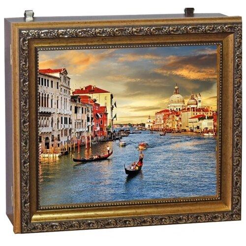 Ключница Мастер Рио Венеция 1/223413, 25х30 см золотистый