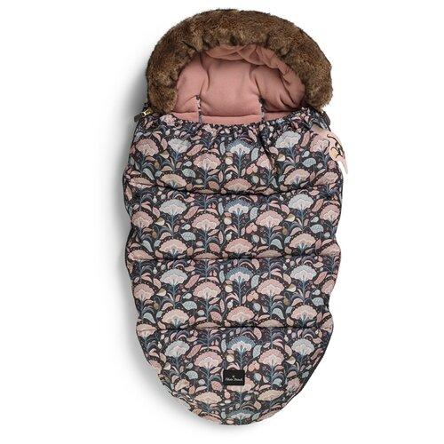 Купить Конверт-мешок Elodie Details зимний с опушкой 95 см midnight bells, Конверты и спальные мешки