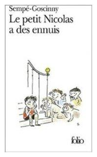 """Семпе-Госсини """"У маленького Никола неприятности. Книга для чтения на французском языке"""""""