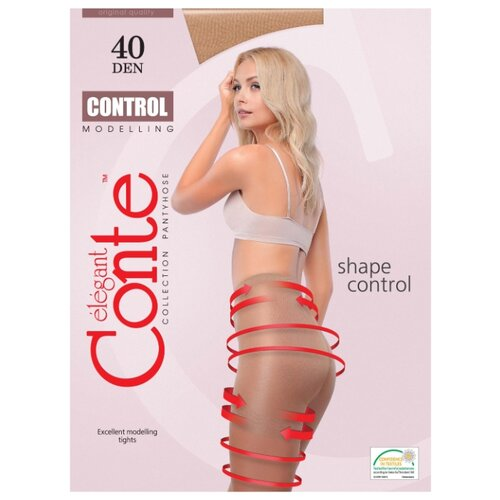 Фото - Колготки Conte Elegant Control 40 den, размер 4, bronz (коричневый) колготки conte elegant active soft 20 den размер 2 bronz коричневый