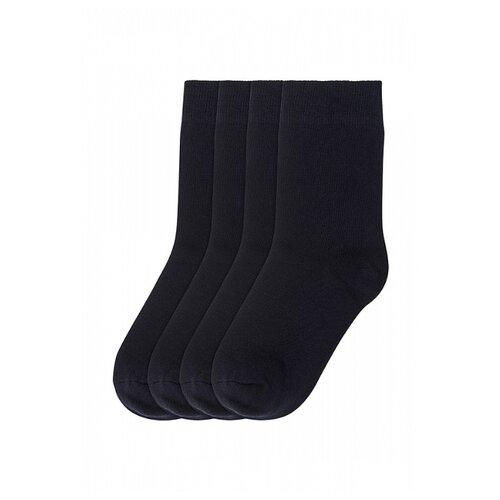 Купить Носки Oldos комплект из 4 пар, размер 23-25, черный