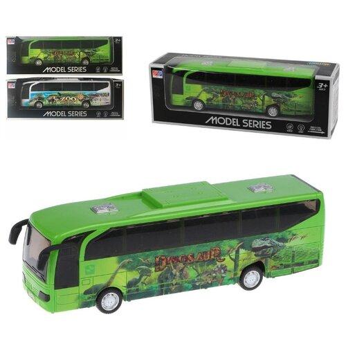 Фото - Автобус Наша Игрушка инерционный, свет, звук (200431264) вертолет наша игрушка металлический инерционный свет звук 9809
