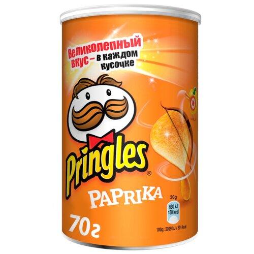 Чипсы Pringles картофельные Paprika, 70 г чипсы pringles картофельные crab 70 г