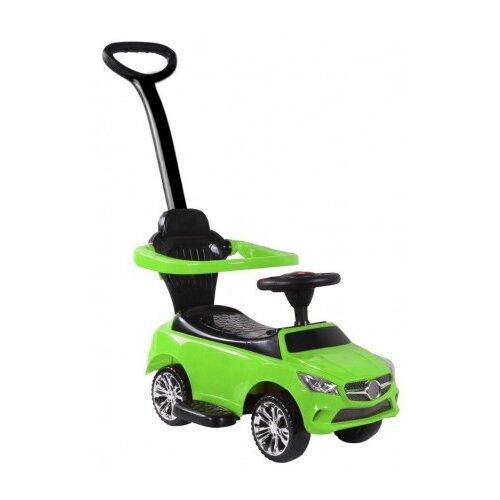 Купить Каталка-толокар RiverToys Mercedes JY-Z06C со звуковыми эффектами зеленый, Каталки и качалки