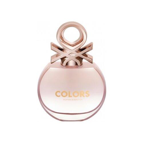 Туалетная вода UNITED COLORS OF BENETTON Colors de Benetton Rose, 80 мл водолазка united colors of benetton 1030d2344 09h