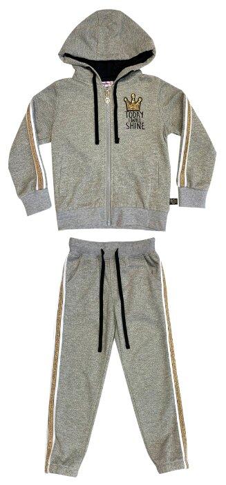 Спортивный костюм Sweet Berry размер 110, серый