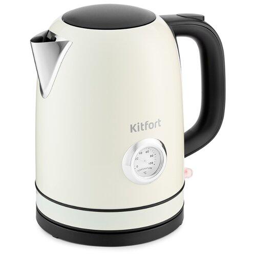 Чайник Kitfort КТ-683-3, бежевый