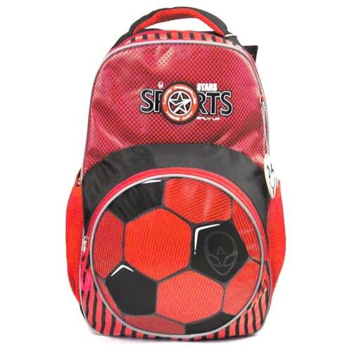 ufo people рюкзак школьный цвет черный 7227 Ufo People Рюкзак 7225, черный/красный