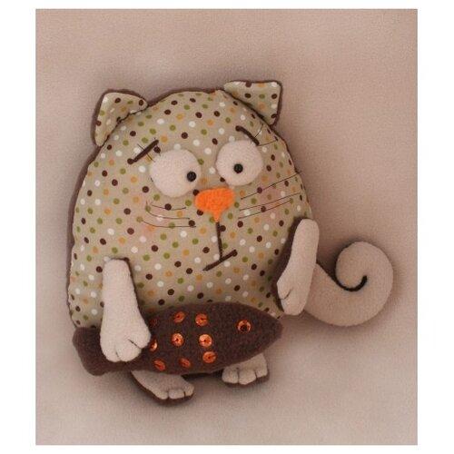 Купить Набор для изготовления текстильной игрушки Cat's story , 21 см, арт. C005, Ваниль, Изготовление кукол и игрушек